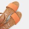 Sandales compensées bata, d'Orange, 769-5983 - 17