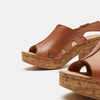 Sandales à plateforme bata, Brun, 764-3980 - 15