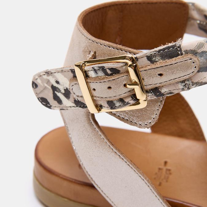 Sandales à bride bata, Beige, 564-8827 - 26