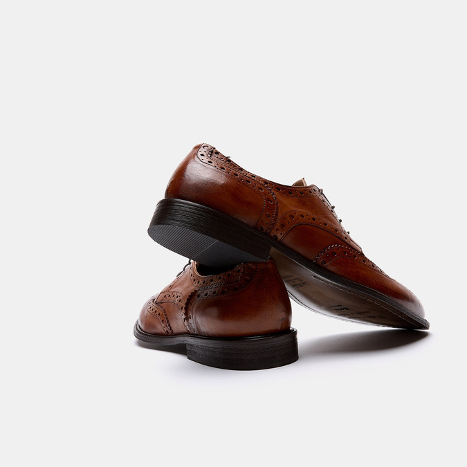 Chaussures à lacets homme bata-the-shoemaker, Brun, 824-3842 - 15