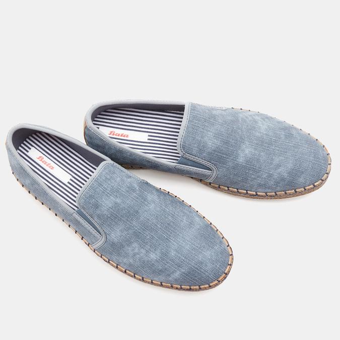 mocassins bata, Bleu, 851-9331 - 16