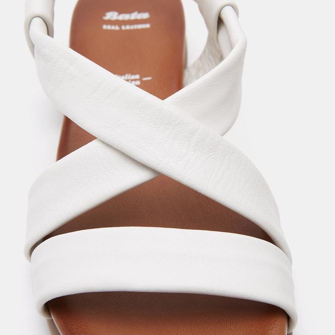Sandales femme bata, Blanc, 564-1820 - 26