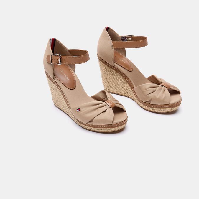 Sandales compensées tommy-hilfiger, Beige, 769-3102 - 15