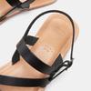 Sandales femme bata, Noir, 564-6847 - 17