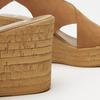 Sandales compensées bata, Brun, 766-3964 - 15