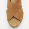 Sandales compensées bata, Brun, 766-3964 - 26