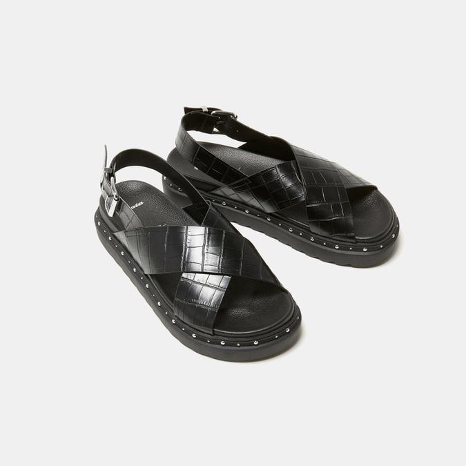 Sandales femme bata, Noir, 561-6873 - 17