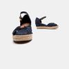 Sandales compensées tommy-hilfiger, Bleu, 669-9202 - 19