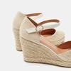 Sandales compensées bata, Or, 769-8953 - 26