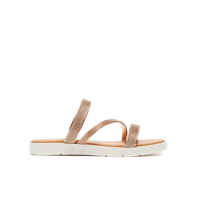 Sandales à bride bata, Rose, 571-5681 - 13