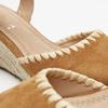 Sandales compensées bata, Brun, 769-3871 - 15