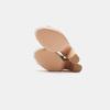 Sandales à talon large et à plateforme bata, Gris, 769-2865 - 17