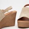 Sandales à plateforme bata, Beige, 763-8125 - 16