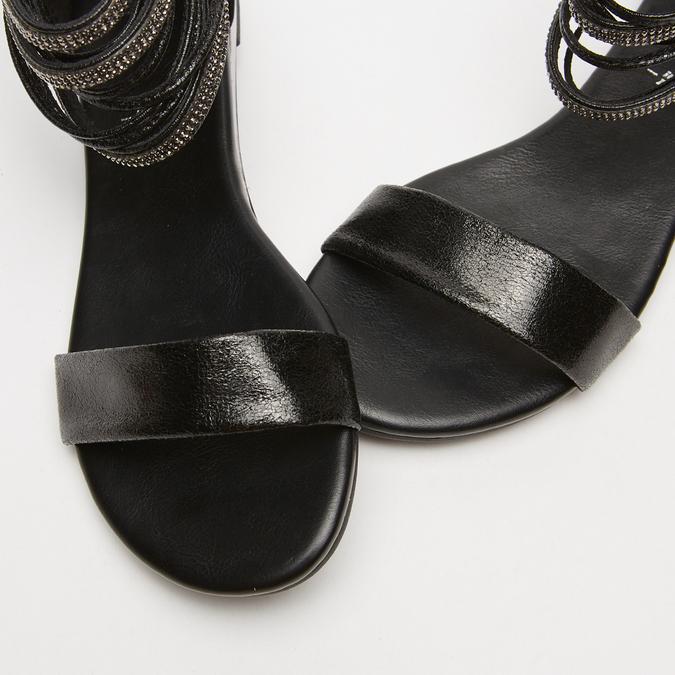 Sandales femme bata, Noir, 561-6804 - 16