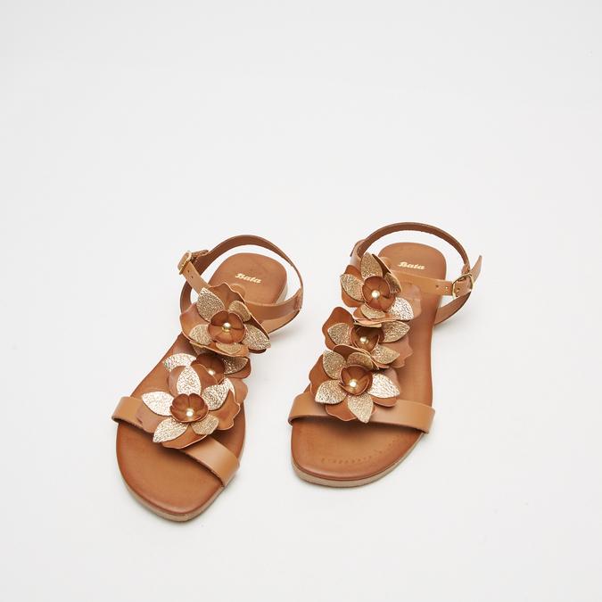 Sandales à bride bata, Brun, 564-3915 - 26
