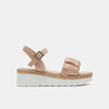 Sandales à plateforme bata, Rose, 761-5289 - 13