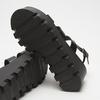 Sandales à plateforme bata, Noir, 764-6130 - 19