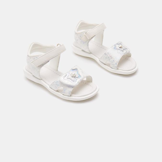 Sandales fille mini-b, Blanc, 261-1268 - 16