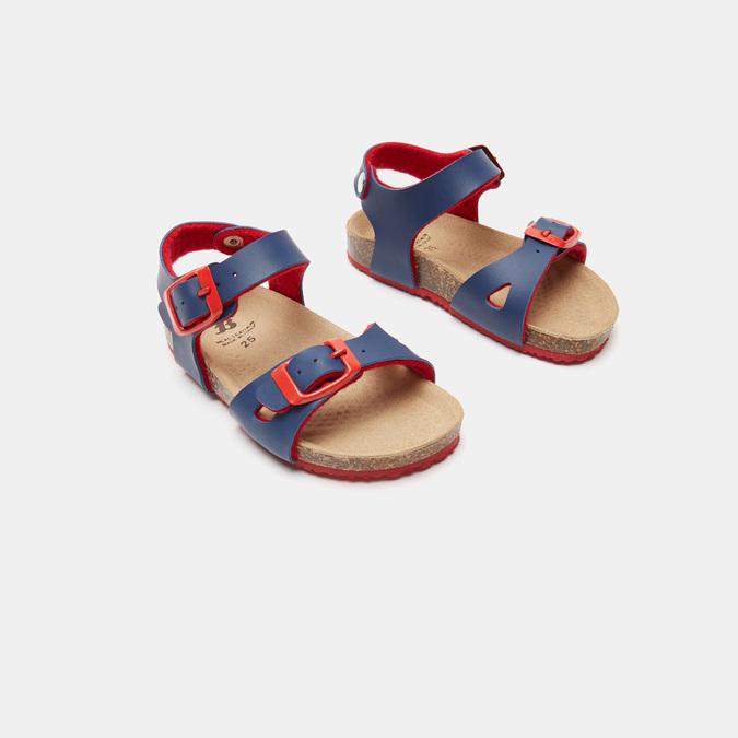 Sandales garçon mini-b, Bleu, 261-9433 - 16