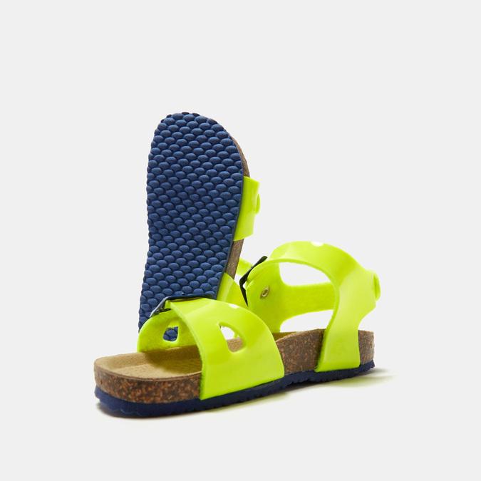 Sandales garçon mini-b, Jaune, 261-8265 - 19