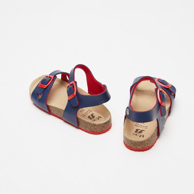 Sandales garçon mini-b, Bleu, 361-9433 - 17