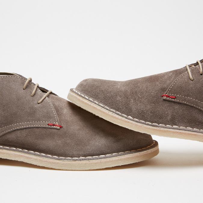 Desert Boots homme bata, Gris, 896-2591 - 16