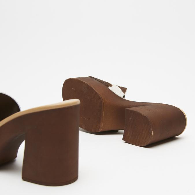 Sandales à plateforme bata, Brun, 764-4177 - 19