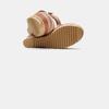 Sandales compensées bata, Jaune, 769-8920 - 17
