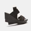 Sandales compensées bata, Noir, 769-6924 - 17