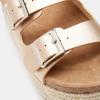 Sandales femme à plateforme bata, Or, 661-8502 - 26