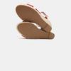 Sandales compensées bata, Rouge, 769-5913 - 17
