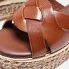 Sandales compensées bata, Brun, 761-3923 - 16