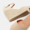 Sandales compensées bata, Beige, 769-8921 - 17