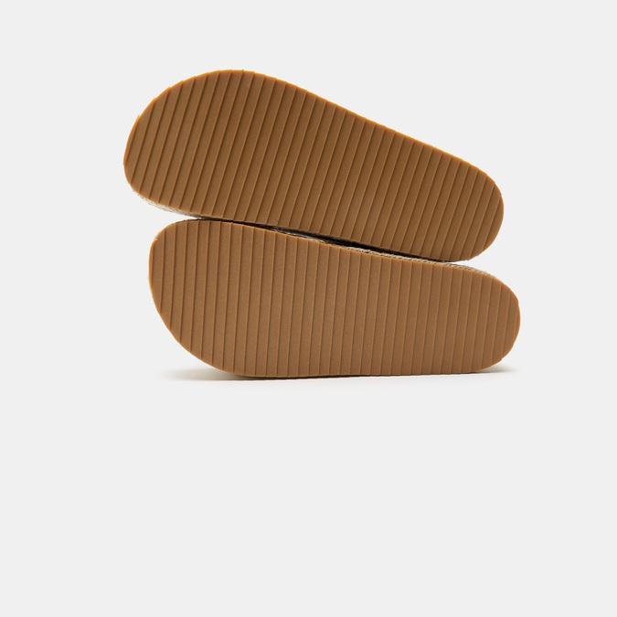 Sandales femme à plateforme bata, Or, 661-8502 - 17