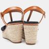 Sandales compensées bata, Noir, 769-6913 - 15
