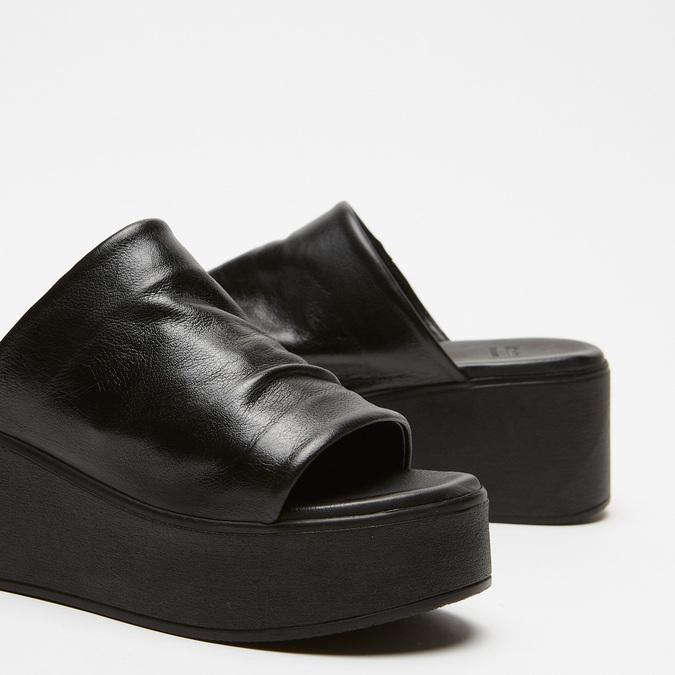 Sandales à plateforme bata, Noir, 764-6965 - 16