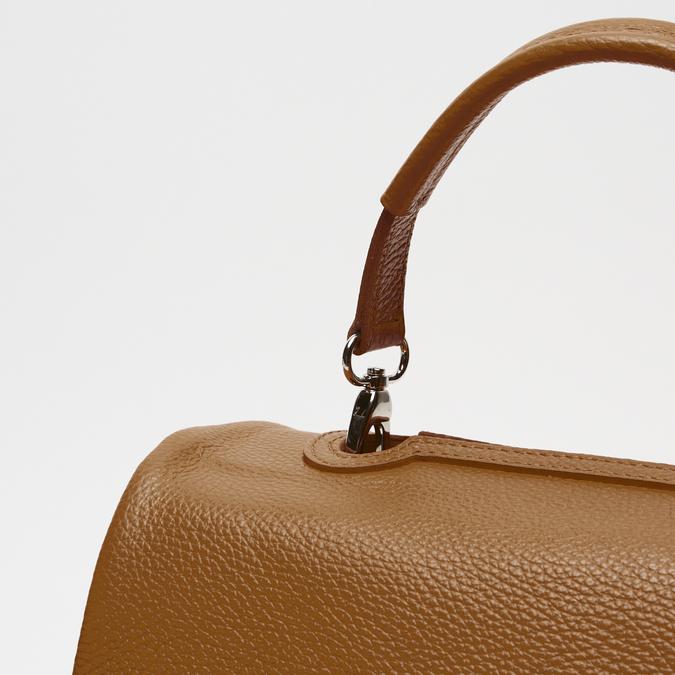 sac à main en vrai cuir bata, Brun, 964-3152 - 15