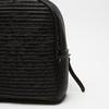 sac à dos à effet matelassé visible bata, Noir, 961-6188 - 26