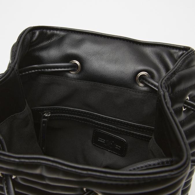 sac à dos à effet matelassé femme bata, Noir, 961-6520 - 17