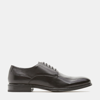 chaussures basses en cuir homme, Noir, 824-6110 - 13