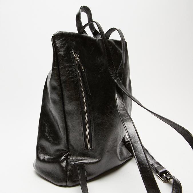 sac à dos à fermeture éclair femme bata, Noir, 961-6311 - 16