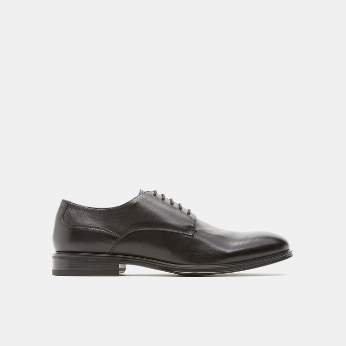 chaussures basses en cuir homme bata-24h, Noir, 824-6110 - 13