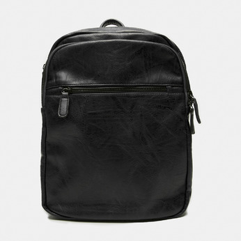 sac à dos à triple fermeture éclair bata, Noir, 961-6367 - 13