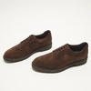 chaussures basses brogue en suède bata, Brun, 823-4129 - 16