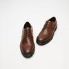 chaussures basses brogue en cuir bata, Brun, 824-4119 - 26