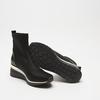 baskets hautes compensées bata, Noir, 699-6144 - 19