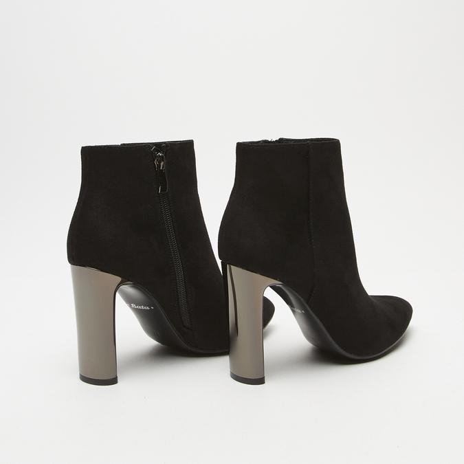 bottines à talons larges femme bata, Noir, 799-6821 - 15