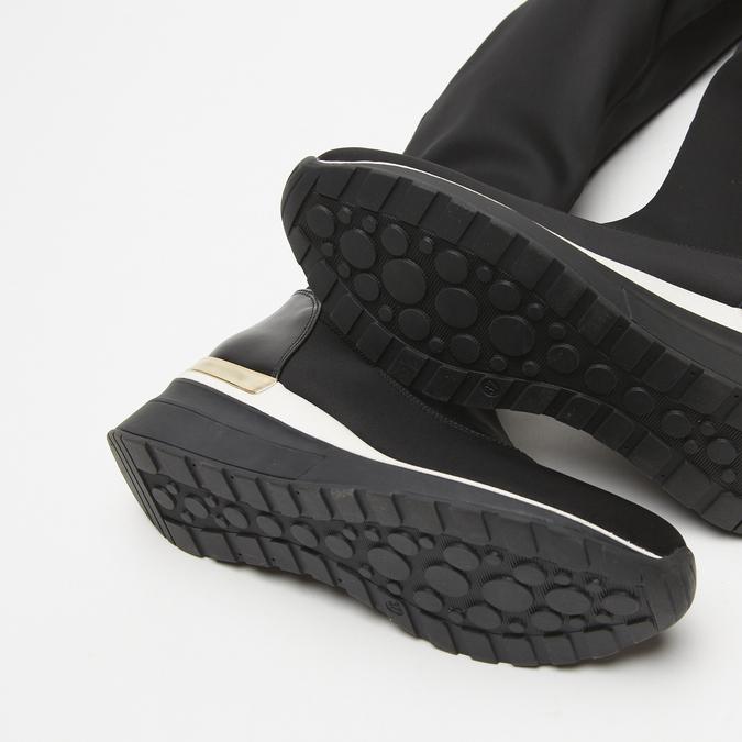 cuissardes compensées bata, Noir, 699-6145 - 19