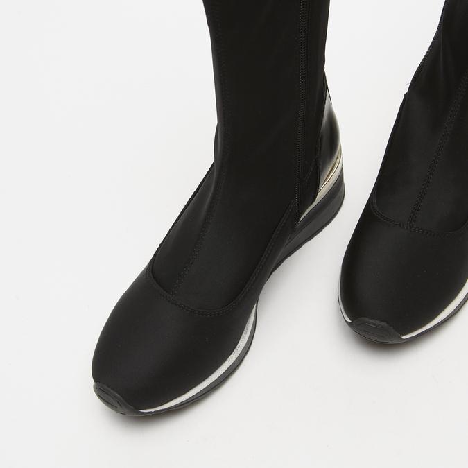 cuissardes compensées bata, Noir, 699-6145 - 16