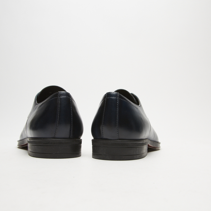chaussures basses en cuir homme bata, Bleu, 824-9376 - 17